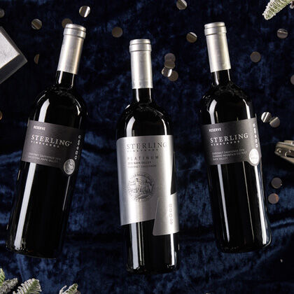 Sterling Vineyards Reserve and Platinum Napa Valley Cabernet Sauvignon
