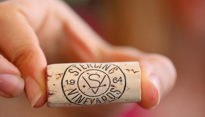 Sterling Vineyards cork