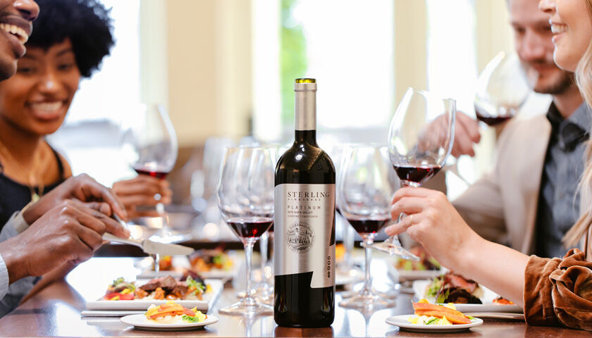 Polished Society Members Pairing Sterling Cabernet Sauvignon with Food