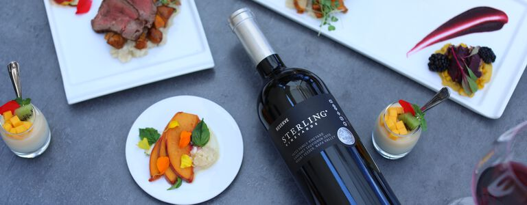 Sterling Reserve Cabernet from Yates Family Vineyard