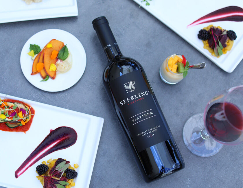 Sterling Platinum Cabernet Sauvignon for Private Virtual Tasting