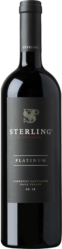 Sterling 2013 Platinum Cabernet Sauvignon Magnum Bottle Shot