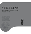 2018 Sterling Vintner's Collection California Pinot Noir Front Label, image 2