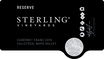 2015 Sterling Vineyards Reserve Cabernet Franc Front Label