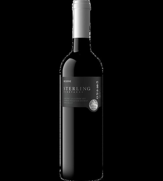 2017 Sterling Diamond Mountain Cabernet Sauvignon Bottle Shot