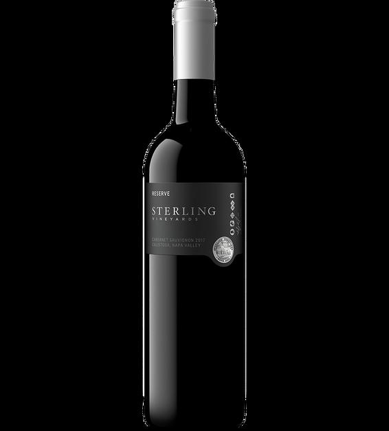 2017 Sterling Reserve Calistoga Cabernet Sauvignon Bottle Shot