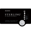 2015 Sterling Vineyards Reserve Calistoga Cabernet Sauvignon Front Label, image 3