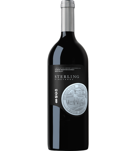 2015 Sterling Vineyards Limited Edition Diamond Mountain District Napa Valley Cabernet Sauvignon Magnum