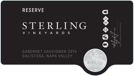 2016 Sterling Vineyards Reserve Cabernet Sauvignon